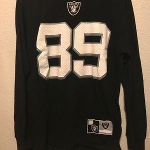 Raiders Amari Cooper L/S Jersey Shirt Men's Large